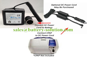 CPAP Li-ion Battery Packs