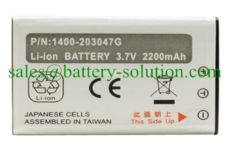 HT6000, PA600 Li-ion Replacement Batteries for Unitech HT6000, PA600 Mobile Computer, Barcode Handheld Terminals